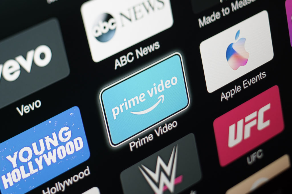 Amazon Prime Video app on Apple TV 3rd generation